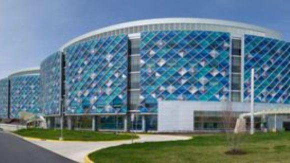 ACM, Curtainwall Clad Hospital
