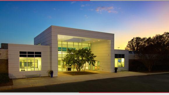 Metal panels wrap education facility