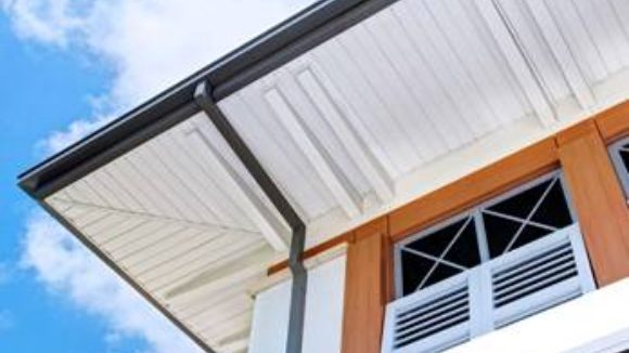 Metal roof tops beachfront meeting facility