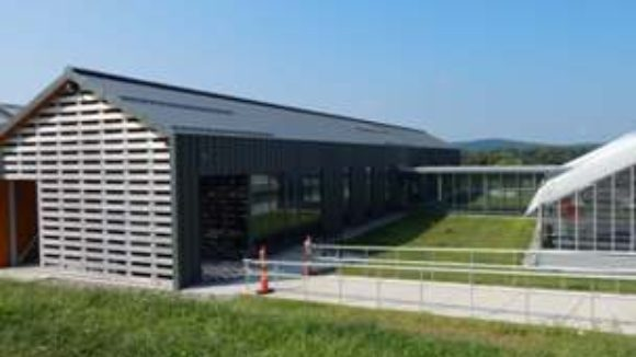Greenhouse design sprouts zinc