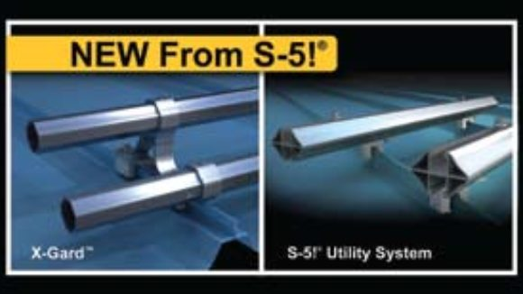 S-5!'s X-Gard pipe snow retention system and S-5!'s Utility System