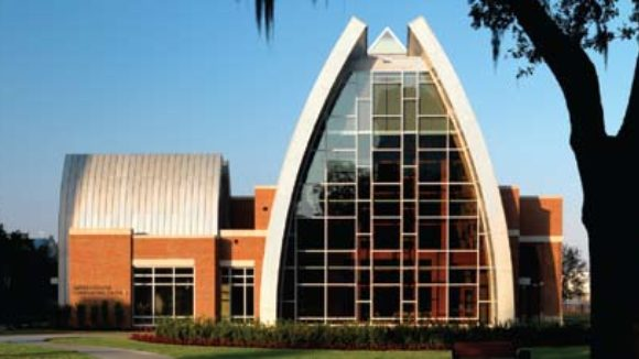 Sykes Chapel and Center for Faith and Values at the University of Tampa in Tampa, Fla.