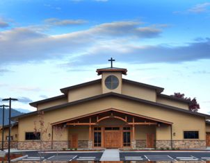 Metal Heightens Church Design Metal Architecture