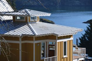 Designers of the Spirit Bay residential development, a waterfront community in Metchosin, British Columbia, Canada, specified sustainable building materials for the project.