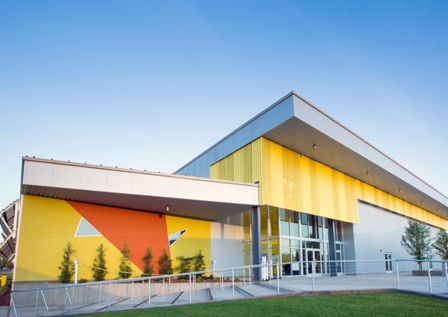 Twin Rivers Charter School in Yuba City, Calif., is the Sustainable Design winner in the 2017 Metal Architecture Design Awards