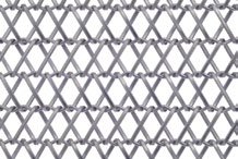 Five stainless steel mesh patterns were released by Cambridge Architectural. Alliance3, Diamond and Mid-Shade are flexible mesh designs and Hashtag and Treo are rigid mesh.