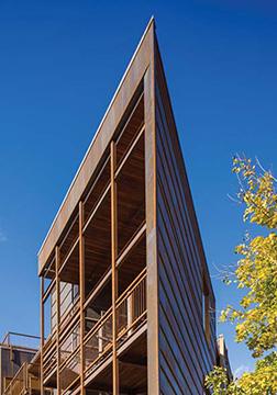 Turning The Corner Metal Architecture