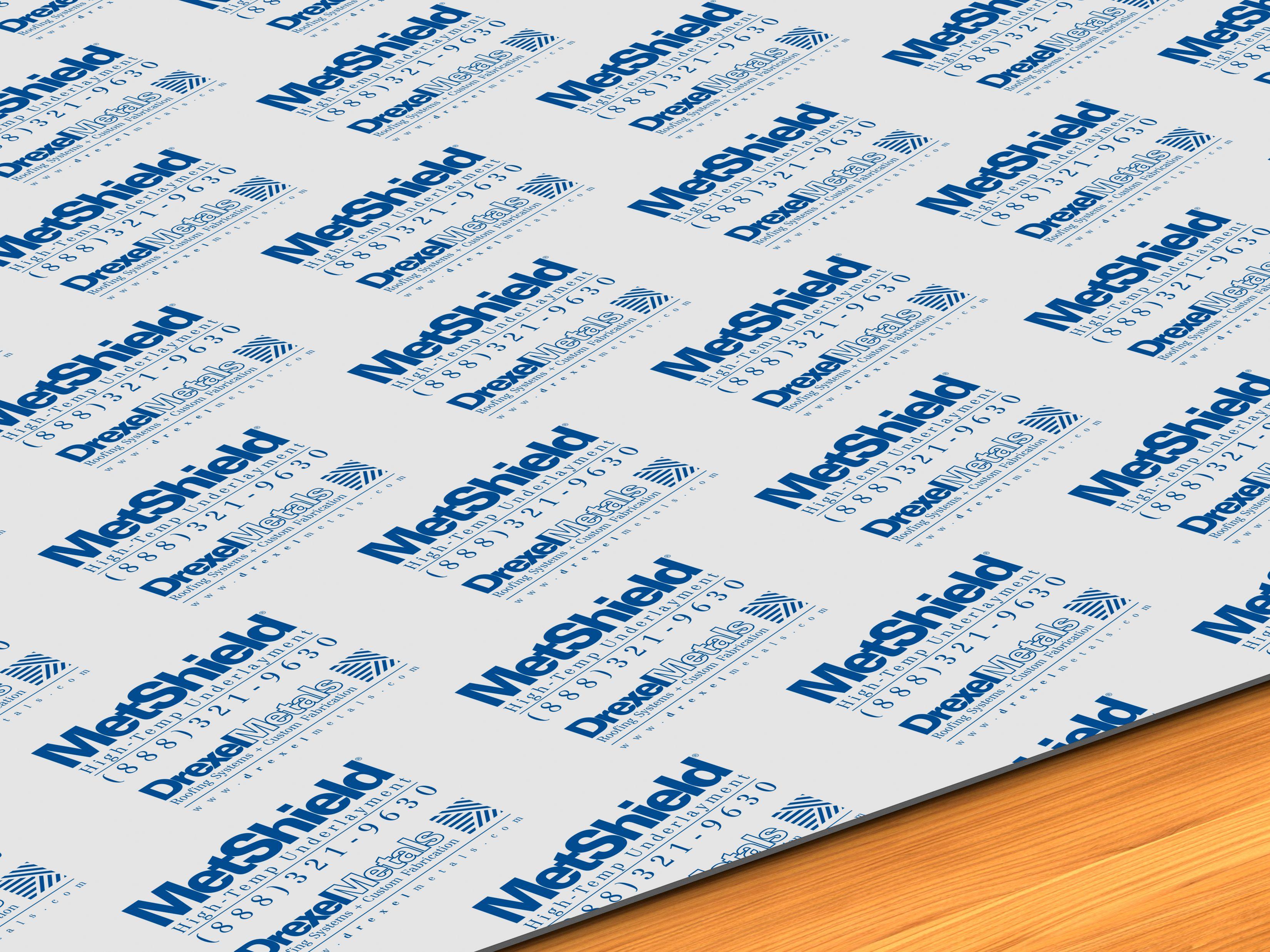 Drexel Metals Metshield Ht Underlayment Earns Metal