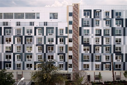 Rella Fogliano, president at Macquesten Development LLC, the developer and installer for Mother Arnetta Crawford Apartments in New York City, says his company researched materials before determining Dri-Design's metal wall panels met the project's requirements.