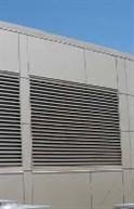 Industrial Louvers' Storm Performance Louvers keep water out, allow buildings to breathe, are custom fabricated and are available in a range of sizes and finishes.