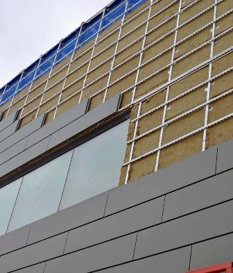 Insulated Rainscreen Continues Barrier Metal Architecture