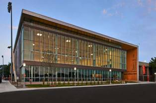 metal panels work out at fitness center metal architecture