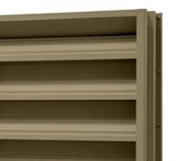 LMCurbs' wide selection of louvers is formed galvanized, extruded aluminum, stationary or adjustable.