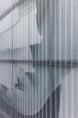 Metal Screen Softens Images Metal Architecture