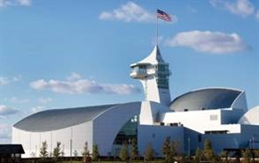 Discovery Park of America, Union City, Tenn., has two main areas, the Grand Hall and South Hall, and includes 60,000 square feet of exhibit space.