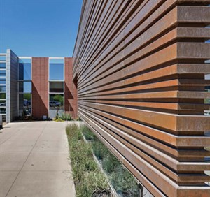Metal Panels For Walls metal architecture - features - 2013 design awards - ribbed metal