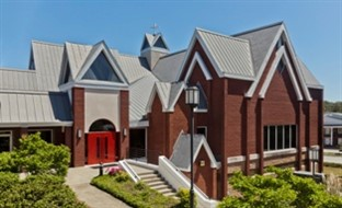 C.E. Bourne & Co. Inc. installed 20,000 square feet of Umicore Building Products USA Inc.'s VMZinc VMZ standing seam metal roof panels in 0.7-mm QUARTZZINC Plus on Good Shepherd Lutheran Church, Columbia, S.C., completed in December 2012.