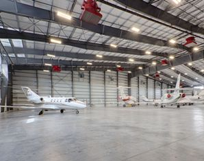 Miami-based Lemartec Engineering and Construction Corp., an authorized builder for Memphis, Tenn.-based Varco Pruden Buildings, designed and constructed a 46,000-square-foot aviation hangar facility for Miami Executive Aviation, a large Fixed Based Operator (FBO) in the Ross Aviation chain, at the Opa-Locka Executive Airport in Miami.
