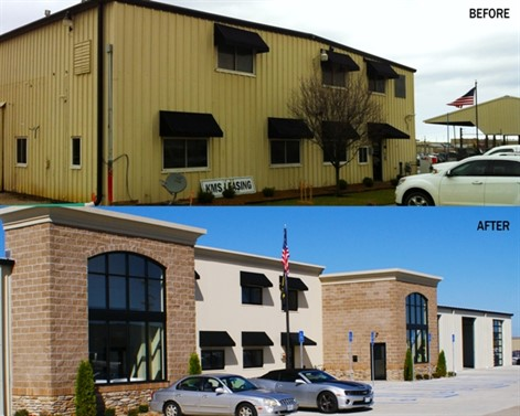 Lock Steel Building Co. Inc. has built two 60-foot by 100-foot metal buildings supplied by Varco Pruden Buildings for Missouri Auto Auction Inc. in Columbia, Mo.
